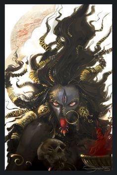 Kali by tejomaya on DeviantArt