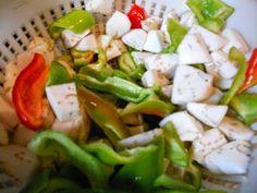 la cucina di Rosaria: misto di pesce all'ortolana