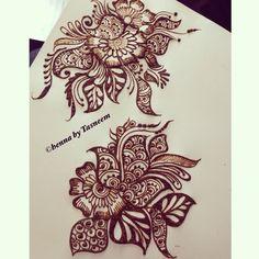 My creative henna on paper
