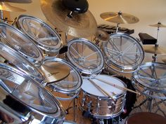 Roto-Tom Set, like wheels for your drum kit.