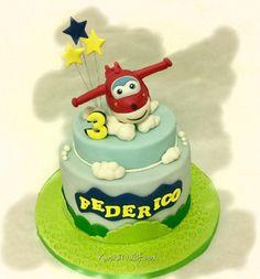 Super Wings cake by Donatella Bussacchetti