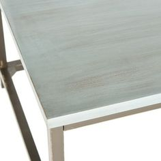 Safavieh Alec Steel Blue Coffee Table | Overstock.com Shopping - Great Deals on Safavieh Coffee, Sofa & End Tables