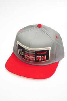 Nintendo Controller Red Grey Mens Snapback - This Nintendo hat is  professionally designed and printed. Product Features Officially licensed  Great for fans ... 641b8404bfe3