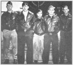"Take Off Order  7  Tail # 40- 2261--""The Ruptured Duck""--- Target: Tokyo --- Pilot Lt. T.W. Lawson, Co-Pilot Lt. D. Davenport, Navigator Lt. C.L. McClure, Bombardier Lt. R.S. Clever, Engineer Gunner Sgt. D.J. Thatcher --- Crash Landing -- China coast"