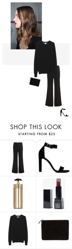 """/"" by darkwood ❤ liked on Polyvore featuring Roland Mouret, Yves Saint Laurent, Prada and Comme des Garçons"