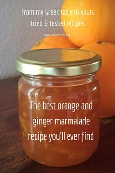 Tried and tested the best orange and ginger marmalade recipe you'll ever find - Amazing Foods Menu Recipes Orange Ginger Marmalade Recipe, Ginger Jam, Mandarin Marmalade Recipes, Ginger Jelly Recipe, Homemade Marmalade Recipes, Hp Sauce, Orange Jam, Simply Yummy, Kitchen