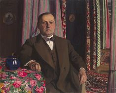 Portrait of Georges Haasen, 1913 by Félix Vallotton (Swiss/French 1865–1925)