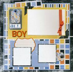 scrapbook paper Disney Scrapbooking (page Scrapbooking Layouts by leanne scrapbook layout Jingle Layouts Baby Boy Scrapbook, Disney Scrapbook Pages, Scrapbook Sketches, Scrapbook Page Layouts, Scrapbook Paper Crafts, Scrapbook Cards, Scrapbook Photos, Scrapbooking Ideas, Cute Scrapbooks