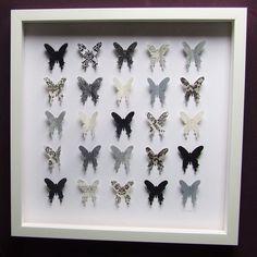 karmuca y cuquino: cuadros de mariposas