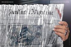 Aktenpuzzle gegen das Vergessen: Die Bundesbeauftragte für Stasiunterlagen, Marianne Birthler, nimmt hinter geschredderter F.A.Z. Platz. © Frankfurter Allgemeine Zeitung (FAZ) http://www.faz.net
