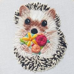 This listing is for three files. These files contain an embroidery pattern, a beginner stitch guide, and a link to a video tutorial. This listing does NOT include supplies or any finished product. This pattern is for personal use only. Please do not copy. Shes finally here! Stitch the cutest hedgehog ever while practicing satin stitch and thread painting. Shes holding a sweet little bouquet of flowers but feel free to replace the flowers with whatever: a bouquet of succulents, a heart with…