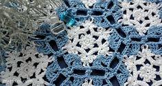 @ MyPicot - Free crochet pattern - lace snowflake motif - hang it as a delicate snowflake without the hexagon border  :) ✿⊱╮Teresa Restegui http://www.pinterest.com/teretegui/✿⊱╮