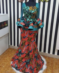 won't you rather get noviannated? ・ ・ Noviann Outfits: Swipe ⬅️⬅️⬅️ left to view more! Making every fabric work the Noviway! Ankara Skirt And Blouse, African Maxi Dresses, African Fashion Ankara, Latest African Fashion Dresses, African Print Fashion, African Attire, African Wear, African Prints, African Fashion