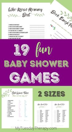 , gender neutral greenery baby shower game printables, works for baby girls and boys. Who knows mommy the best, old wives tales, how sweet it is. Easy Baby Shower Games, Budget Baby Shower, Baby Shower Prizes, Cheap Baby Shower, Baby Girl Shower Themes, Simple Baby Shower, Girl Baby Shower Decorations, Baby Shower Centerpieces, Baby Games