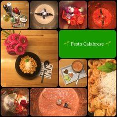 Aus aller Welt 🇮🇹 Italien 🇮🇹 🌱 Pesto Calabrese 🌱 … wunderbar fruchtig und würzig – als Brotaufstrich, zu Fisch, Gemüse oder als fixe Nudelsauce 💚❤️ | Das Leben ist zu kurz, um schlechten Wein zu trinken! | Bloglovin'