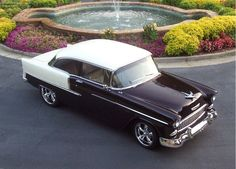 1955 Chevrolet Bel Air | Candy Eggplant & Pearl Arctic White...