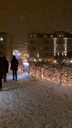 #beautiful #city #love #snow