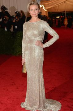 Cameron Diaz de Stella McCartney en la Gala del MET 2012