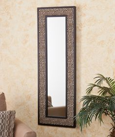Take a look at this Leopard Print Decorative Mirror on zulily today!