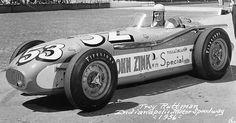 Troy Ruttma,n 1956 Indianapolis.