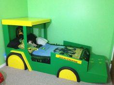 john deere tractor bed | john deere bed, weekend little project for little man turning 2 , Boys ...