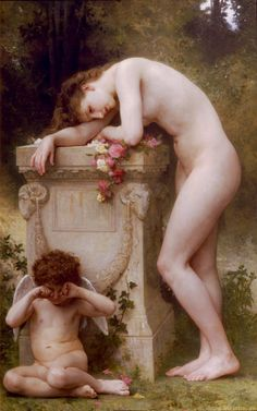 William-Adolphe Bouguereau - Elegy,1899