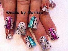Acrylic nails by marissa Lopez