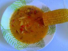 """Meksykańska Zupa z Kukurydzy - """"Mam za dużo czasu"""""""