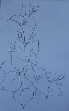 45 ideas for drawing patterns ideas fabrics Art Painting, Tole Painting, Sketches, Art Drawings, Drawings, Fabric Painting, Drawing Sketches, Flower Drawing, Coloring Pages