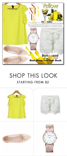 """Banggood 8 / VII"" by esma178 ❤ liked on Polyvore"