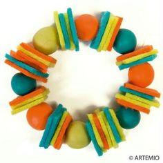Créer des bracelets en feutrine pour fête des mères à moins de 2 euros