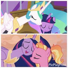 Friendship is Magic - Friendship is Magic - My Little Pony List, My Little Pony Twilight, My Little Pony Comic, My Little Pony Drawing, My Little Pony Pictures, My Little Pony Friendship, Disney Princess Art, Disney Princesses, Princesa Celestia