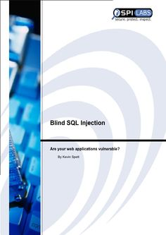 Blind_SQLInjection Sql Injection, Web Application, Vulnerability, Anonymous, Blinds, Bar Chart, Learning, Book, Shades Blinds