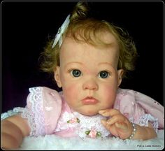 Almost 700 babies made and sold and this is my first EBay auction. A very collectible Limited Edition 23 inch baby SHARLAMAE number 504 out of 1000 Worldwide. Auction ends on 15/8/2014