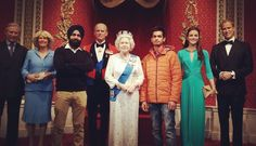 It wAs such a great #honour to #meet #the #queen at #Buckingham #palace #prince #william #princess #kate #queen #Singh #sikh #beard #beardlover #beardgang #sikhbeard #enjoying #winter #royal #family #homesick #alone by jaypeesingh