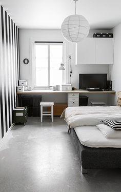 5 Modern Small Bathroom Trends for 2020 139 Wonderful Modern Small Kids Bedroom Inspirations Modern Small Bathrooms, Small Rooms, Modern Teen Bedrooms, Modern Room, Modern Living, Kids Rooms, Small Space, Decor Room, Bedroom Decor