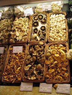 Mushrooms Harrod's Food Halls