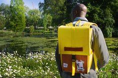 Goodstart Jones   Woodsack Backpack in Yellow