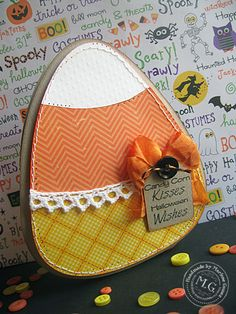 Scrappin Cookie: My Craft Spot Stamp Release Party Sneak Peek #1 - Candy Corn Kisses