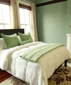 Save Now on this Green Hotel Look Bed Set by DOWNLITE on #zulily today!