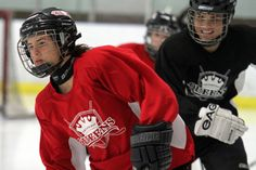 Michela Cava (left) is hoping to duplicate 2010, when the Thunder Bay Queen's won the Esso Cup national Midget AA women's hockey championship.