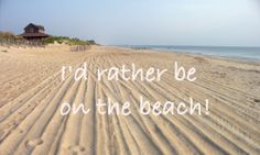 Especially if that beach is in #OBX!