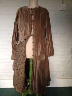 Ewa I Walla Velvet Coat | eBay ... I feel like this is just so very me.
