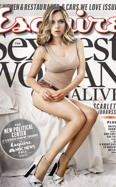 Scarlett Johansson was named Esquire's Sexiest Woman Alive for the second time in seven years. Scarlett Johansson Corpo, Beautiful Celebrities, Beautiful Women, Don Jon, Femmes Les Plus Sexy, Beauty And Fashion, Men's Fashion, Fashion Trends, Natalie Dormer