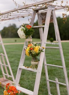Virginia Fall Wedding by Meg Runion « Southern Weddings Magazine such a clever idea to make an arbor Deer Wedding, Wedding Hair Flowers, Wedding Dresses, Coral Bridal Showers, Virginia Fall, Fall Wedding Arches, Southern Weddings, Wedding Planning, Wedding Ideas