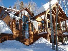 This elegant mountain retreat is a 3,300 square foot vacation home located in the exclusive Engineer Village across from Durango Mountain Resort. It features 4 beautiful bedrooms, 4.5 baths, a three car heated and finished garage, hardwood floors, stone fireplace, rustic hand peeled logs, covered deck, and high-end furnishings throughout. Durango Vacation Rentals | Durango Property Management - Durango Colorado Vacations