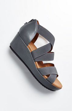 f018a3d8ee6e5a Gentle Souls® for Pure Jill cross-strap wedges Sneaker Boots