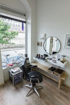 #sneakerbarber #popupstore #mikulasska31 #bratislava Bratislava, Conference Room, Vanity, Pop, Mirror, Store, Table, Furniture, Home Decor
