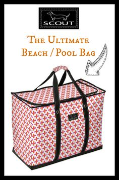 4 Boys bag by SCOUT - the BEST pool/beach bag for summer!