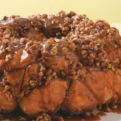 Get ahead with this #caramel pecan #monkeybread!